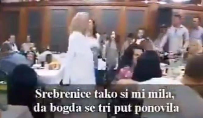 Društvenim mrežama se širi šokantan snimak: Igraju kolo i vesele se uz stihve o Srebrenici