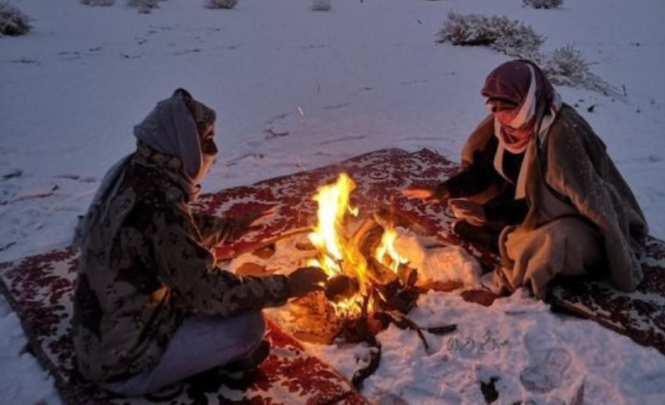 """""""Možete li vjerovati? Ovo nije Rusija, a ni Norveška"""": Pao snijeg u Saudijskoj Arabiji"""