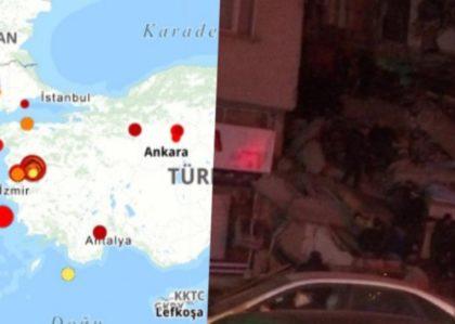 Razoran zemljotres pogodio Tursku